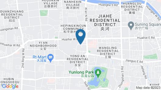 Peninsula Hotel - Zhaoqing Map