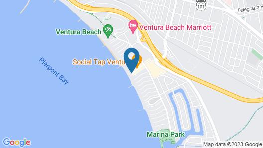 Inn On The Beach Map