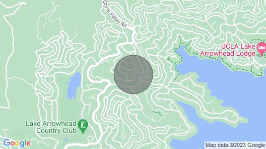 NEW Modern Lake Arrowhead Studio! Map