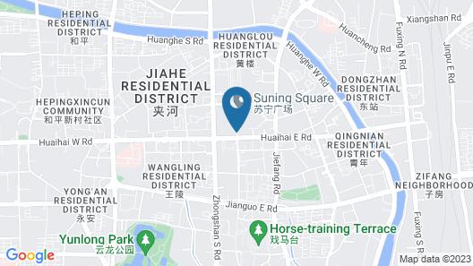Hyatt Regency Xuzhou Map