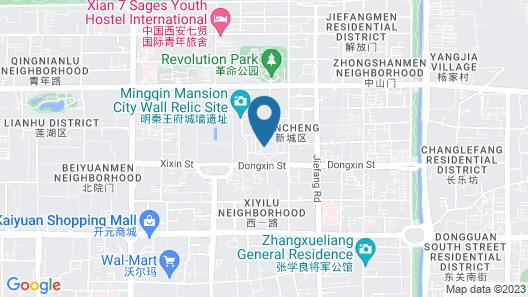 Sofitel Legend People's Grand Hotel Xian Map