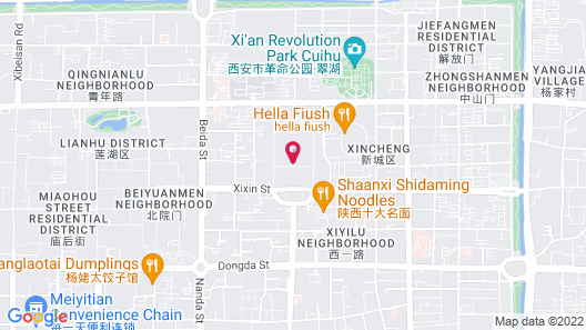 Sofitel Xian on Renmin Square Map