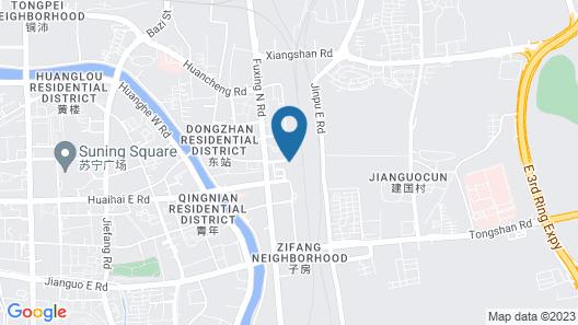 Greentree Inn Xuzhou Ruojia Express Hotel Map