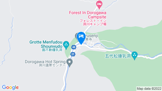 Atarashiya Ryokan - Dorogawa-onsen Hot Spring Map
