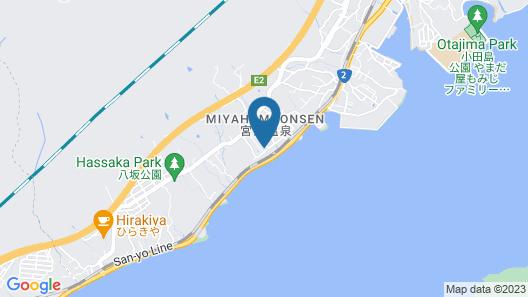 Miyajima Hanarenoyado IBUKU Map