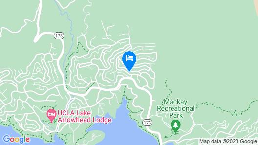 Yosemite - V069 - 4 Br Home Map