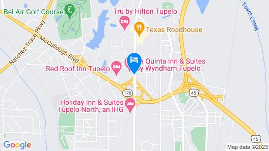 La Quinta Inn & Suites by Wyndham Tupelo Map