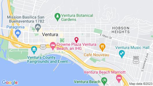 Travelers Beach Inn Map