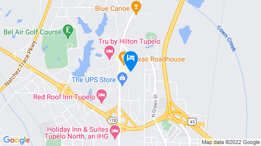 Holiday Inn Express Hotel & Suites Tupelo, an IHG Hotel Map