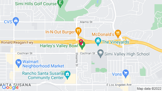Extended Stay America Suites Los Angeles Simi Valley Map