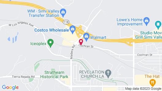 Courtyard by Marriott Ventura Simi Valley Map