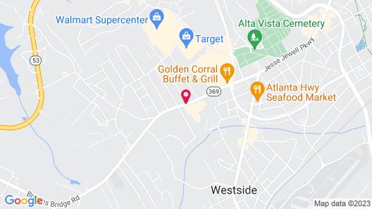 Hilton Garden Inn Gainesville Map
