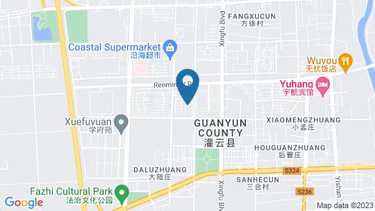 Ibis Guanyun Kowloon Port Water Street Hotel Map