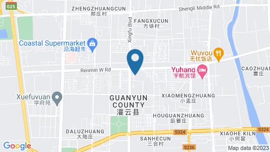 Lianyungang Dong Yuan International Hotel Map