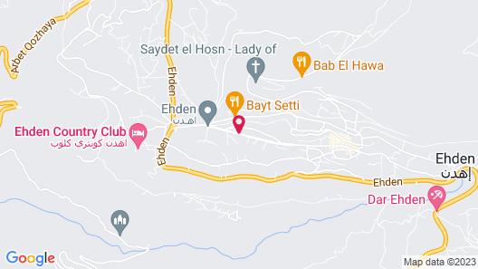 Serail Hotel & Lodging Map
