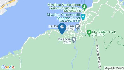 Miyajima MorinoYado Inn Map