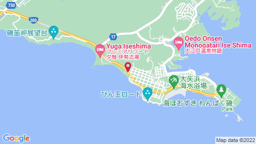 Seaside Hotel Geibouso Map