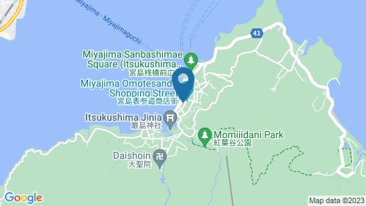 Miyajima Kinsuikan Map