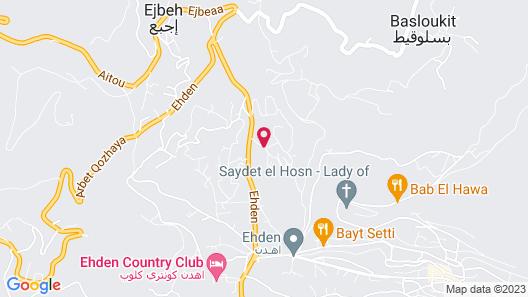 Beit Mirna Map