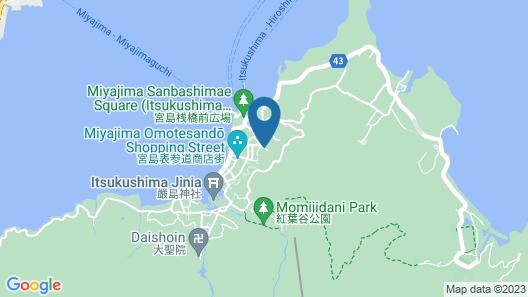 Miyajima Hotel Makoto Map