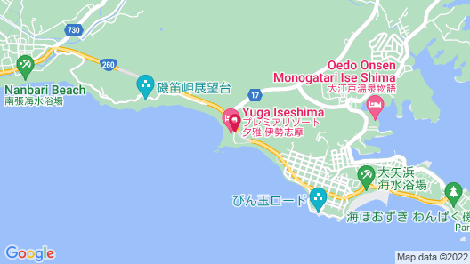 Premier Resort Yuga Iseshima Map