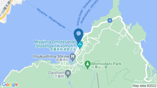 Hotel Miyarikyu Map