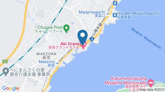 Aki Grand Hotel & Spa Map
