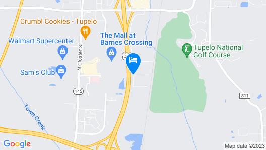 Fairfield Inn & Suites by Marriott Tupelo Map