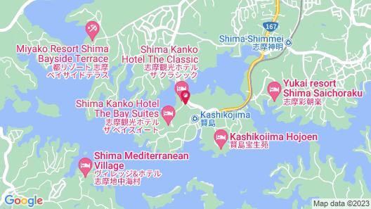 Shima Kanko Hotel The Classic Map