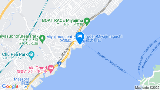 Miyajima Coral Hotel Map