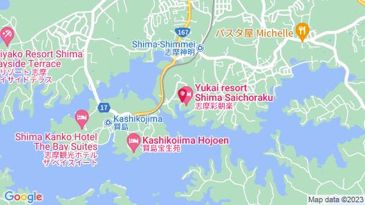 Yukai Resort Onsen Resort Hotel Shima Saichoraku Map