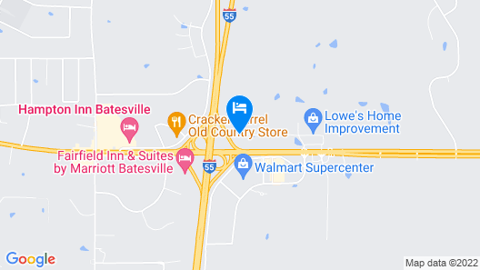 Home2 Suites by Hilton Batesville Map