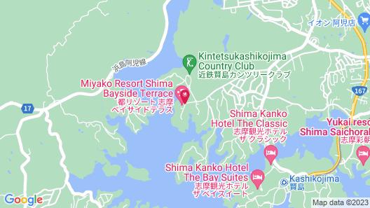 Miyako Resort Shima Bayside Terrace Map