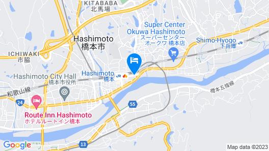 Hostel Inn Hashimoto Map