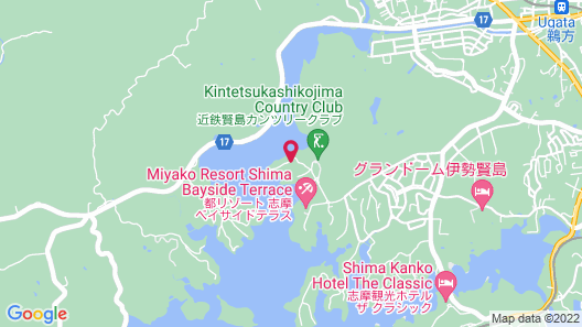 THE HIRAMATSU HOTELS & RESORTS KASHIKOJIMA Map