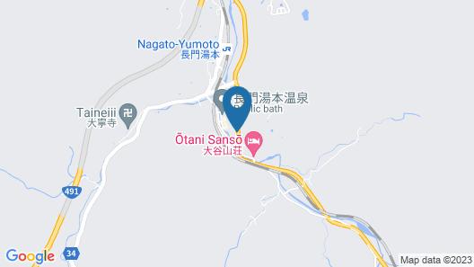 Hoshino Resorts KAI Nagato Map
