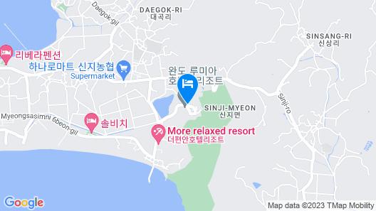 LUMIA Hotel & Resort Map