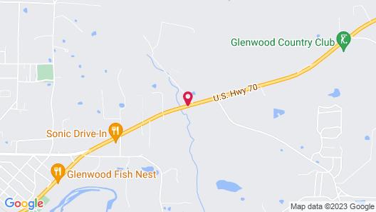 Riverwood Inn of Glenwood Map