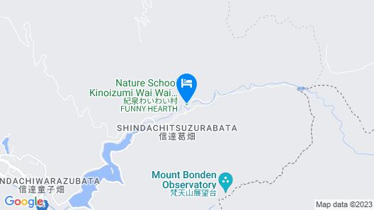 Kisen Waiwai-mura Map