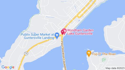Wyndham Garden Lake Guntersville Map