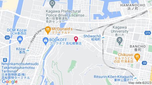 Kiyomi Sanso Hanajukai Map