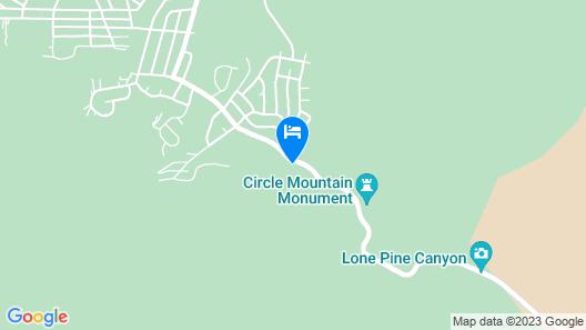 Rhinestone Rose Inn & Wellness Center Map