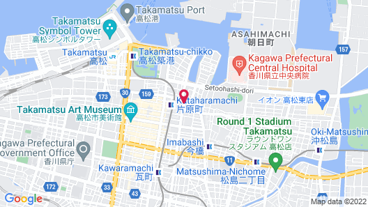 777 Takamatsu Guest House Map