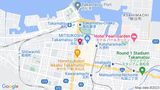 Alphabed Takamatsu Hyougomachi Map