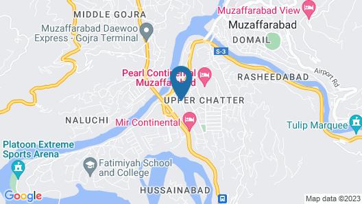 HotelOrash Lodges Map