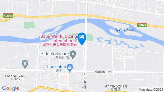 Wanfu Qixing International Hotel - Baoji Map