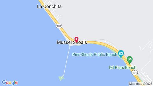 Cliff House Inn On The Ocean Map