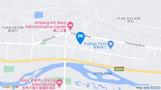 Ibis Baoji Hi-Tech Zone Hotel Map