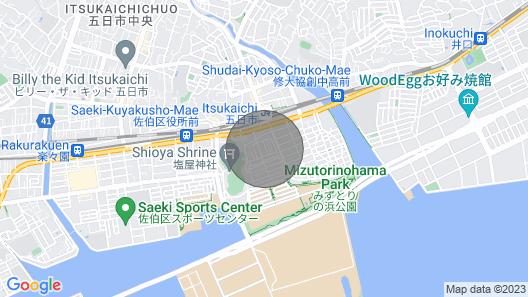 Between JR Hiroshima and Miyajima station, JR Itukaiti station  3 min! New Home Map