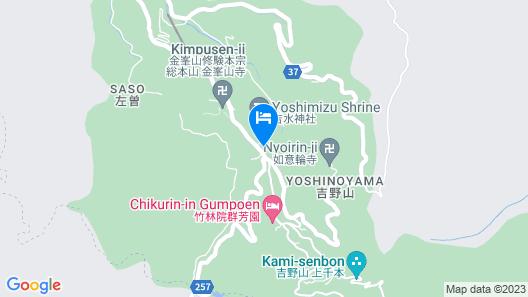 Yumoto Hounoya Map
